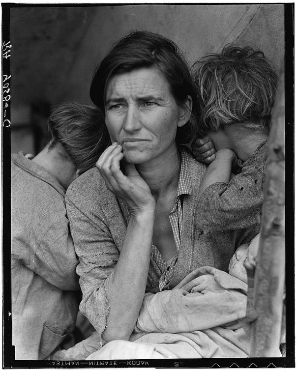 la mère migrante Dorothea Lange