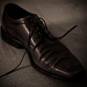chaussure brune nature morte still life