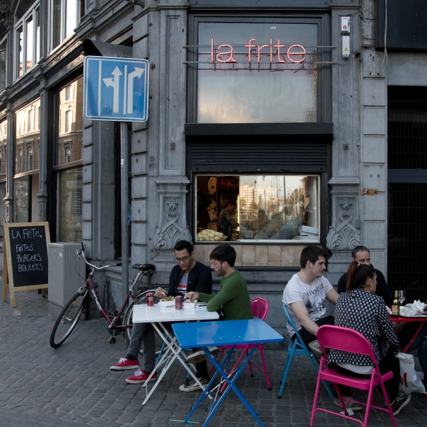 Friterie la frite Liège