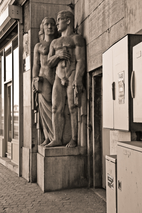 statues Liège