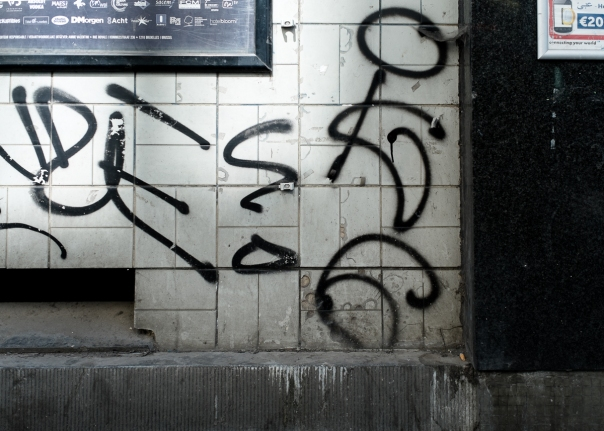 tag grafiti Bruxelles
