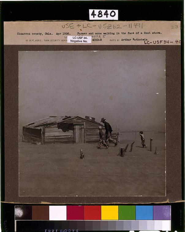 Arthur Rothstein dust storm